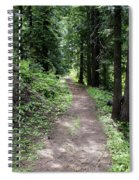 Shady Grove Path Spiral Notebook