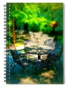 Shady Table Spiral Notebook