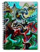 Shaken Not Stirred Spiral Notebook