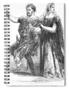 Shakespeare: Macbeth, 1845 Spiral Notebook
