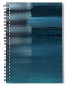 Shallow- Abstract Art By Linda Woods Spiral Notebook