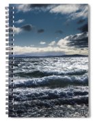 Shallows And Depths Of Adventure Bay Spiral Notebook