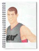 Shane Battier Spiral Notebook