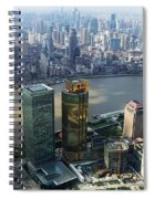 Shanghai By The River Spiral Notebook