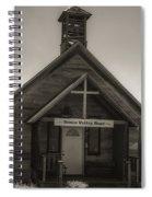 Shaniko Wedding Chapel Spiral Notebook