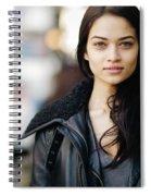 Shanina Shaik Spiral Notebook