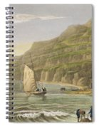 Shanklin Bay Spiral Notebook