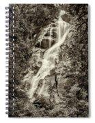 Shannon Falls - Bw Spiral Notebook