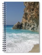 Shaped By The Sea  Spiral Notebook