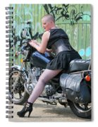 Shapely Sidestand Spiral Notebook