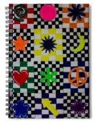 Shapes Spiral Notebook