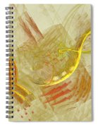 Shapes In Abstract Spiral Notebook