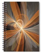 Shapes Of Fantasy Flowers Spiral Notebook