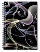 Shapes Of Fluidity Spiral Notebook