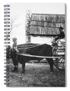 Sharecroppers, C1890 Spiral Notebook