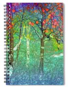 Sharing Colours And Dreams Spiral Notebook