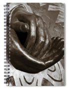 Sharing Hands Spiral Notebook