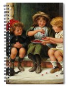 Sharing The Cherries Spiral Notebook