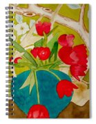 Sharing The Limelight Spiral Notebook