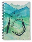 Shark Mountain  Spiral Notebook