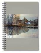 Shark River Reflections Spiral Notebook