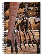 Sharp Rusty Objects Spiral Notebook