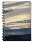Shasta Trinity National Forest Sunrise Spiral Notebook