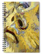 Shattered Illusions Spiral Notebook