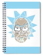Shattered Reflection Series Spiral Notebook