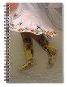 Pow Wow Shawl Dancer 8 Spiral Notebook