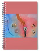 She Came From Above Spiral Notebook