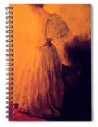 She Danced Spiral Notebook