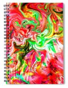 She Embraces Nature Spiral Notebook