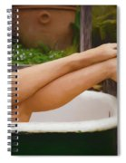 She Has Legs Spiral Notebook