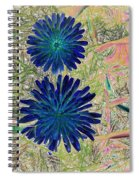 She Is Back With Abstract Spiral Notebook