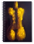 She Is Violin Spiral Notebook