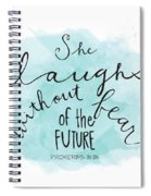 She Laughs Spiral Notebook