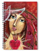 She Who Comforts Us Spiral Notebook