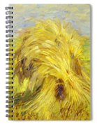 Sheaf Of Grain 1907 Spiral Notebook