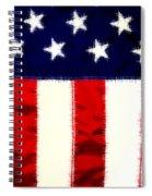 Shear Flag Spiral Notebook