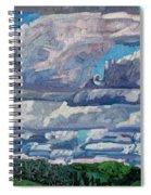 Sheared Tcu Spiral Notebook
