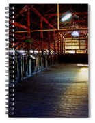 Shearing Shed From A Bygone Era Spiral Notebook