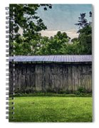 Shed At Camp Pecometh Spiral Notebook