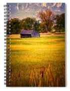 Shed In Sunlight Spiral Notebook