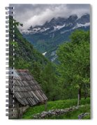 Shed In The Pass Spiral Notebook
