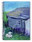 Sheep In Scotland  Spiral Notebook
