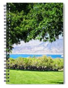 Sheep In The Shade Spiral Notebook
