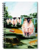 Sheeps Spiral Notebook