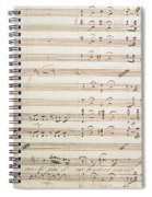 Sheet Music For The Barber Of Seville By Rossini  Spiral Notebook