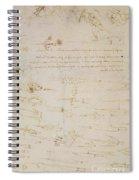Sheet Of Studies Of Foot Soldiers And Horsemen In Combat, And Halbards Spiral Notebook